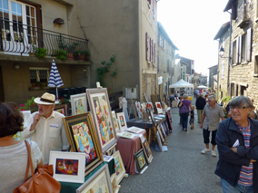 Saint-Fortunat septembre 2012.