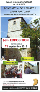 Saint-Fortunat septembre 2016.